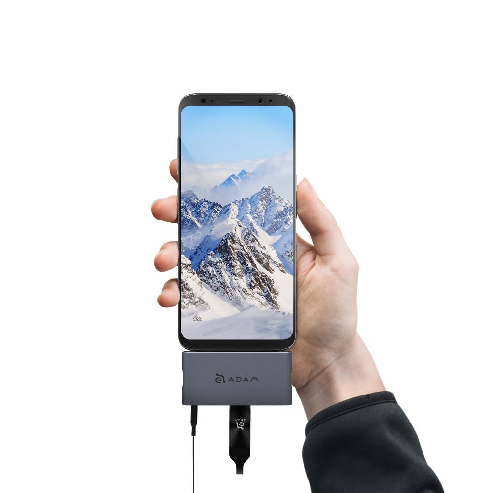 ADAM|Hub i4 USB 3.1 USB-C 4 port 多功能轉接器