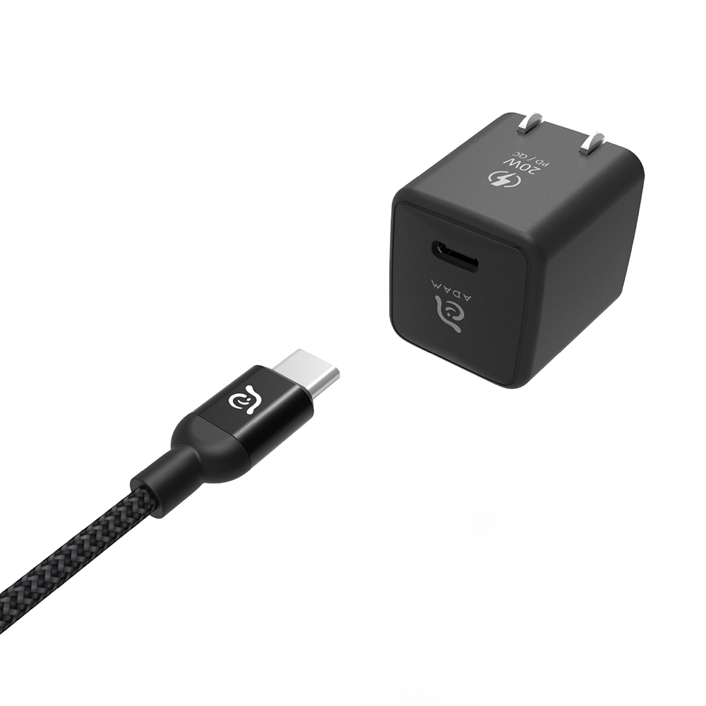ADAM OMNIA X1 Kit 20W mini 快速充電組『 iPhone 12專用』