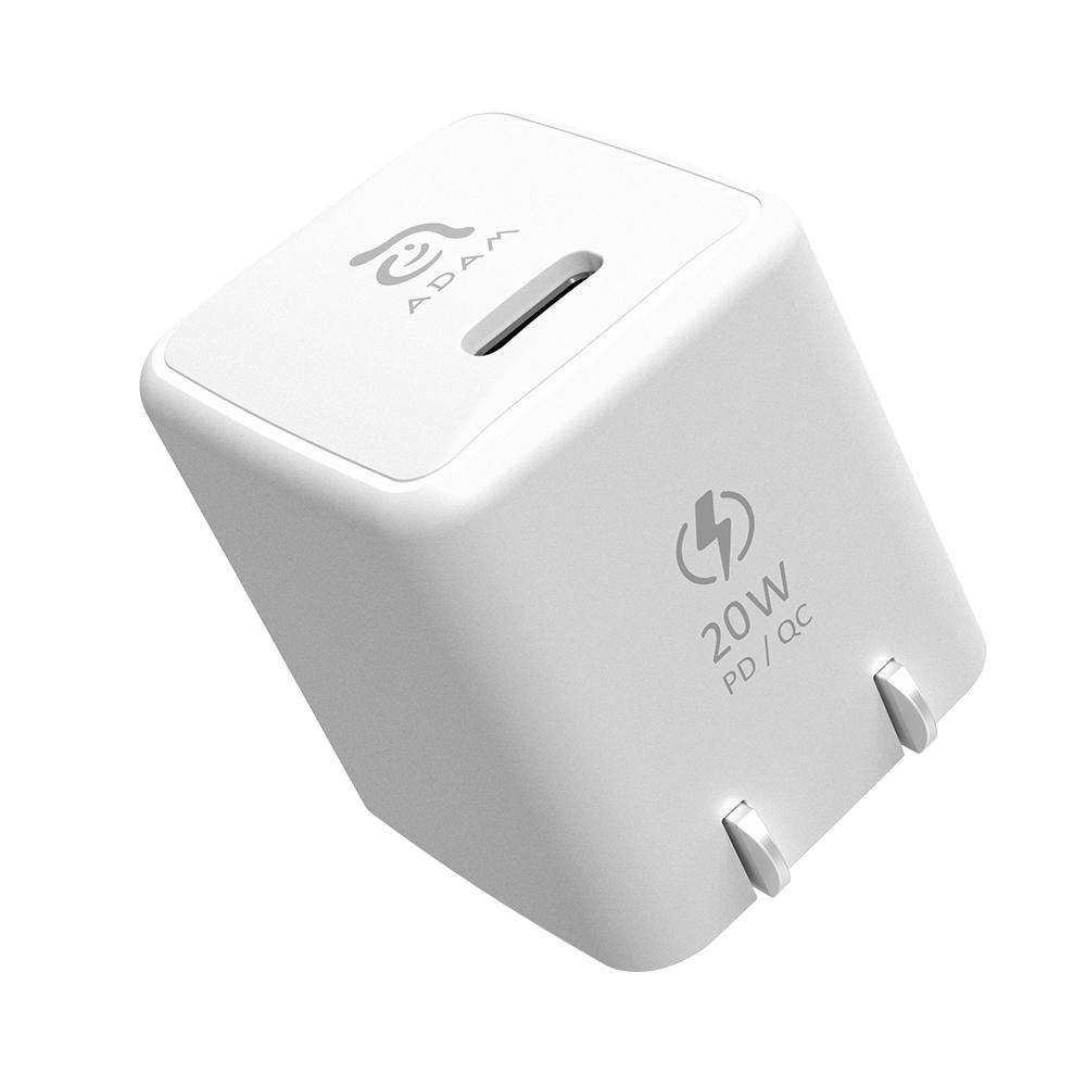ADAM OMNIA X1 20W mini 快速充電器『 iPhone 12專用』