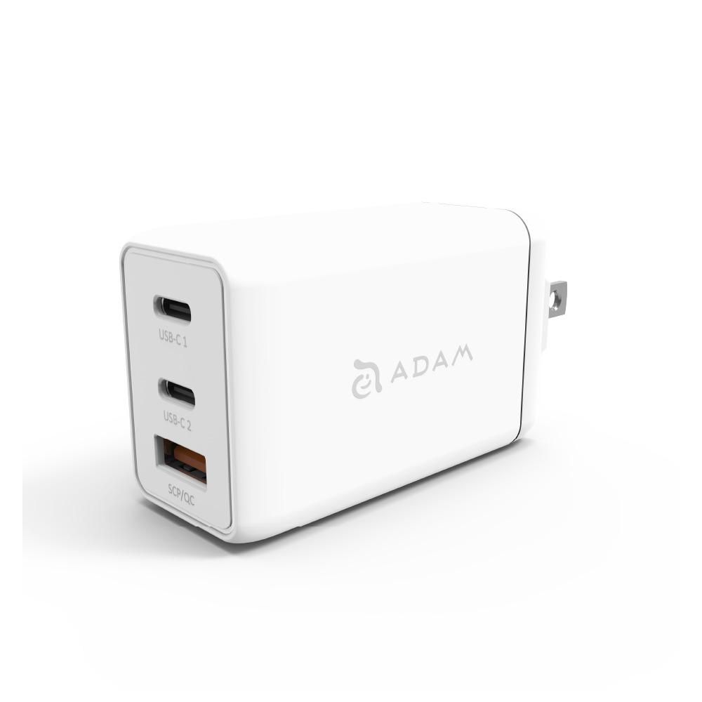 ADAM|OMNIA F6 65W GaN快速充電器(送Type-C 200公分充電線)