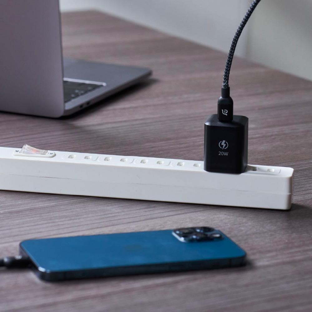 ADAM|OMNIA Xe USB-C PD / QC 3.0 20W極小快速充電器 iPhone 12專用