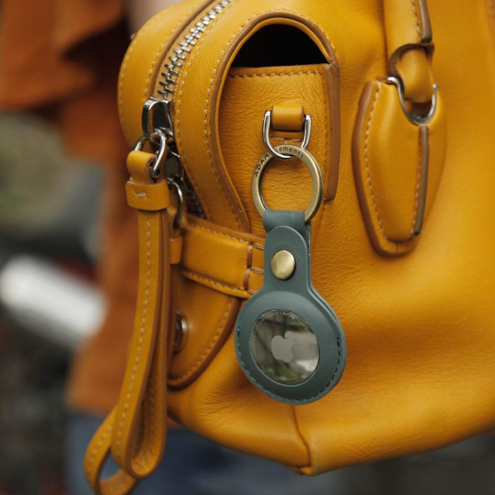 ADAM|AirTag 皮革質感保護套 2入組
