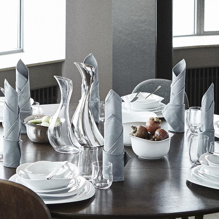 (複製)北歐櫥窗 Georg Jensen|Cobra 波浪白瓷保溫杯 (300 ml)