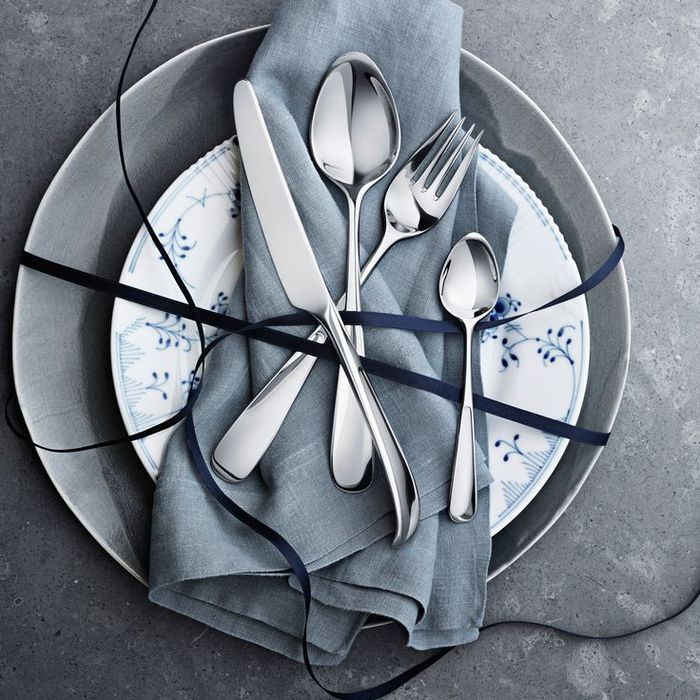 (複製)北歐櫥窗 Georg Jensen|Vivianna 朵蘭五件餐具禮盒組(霧面)