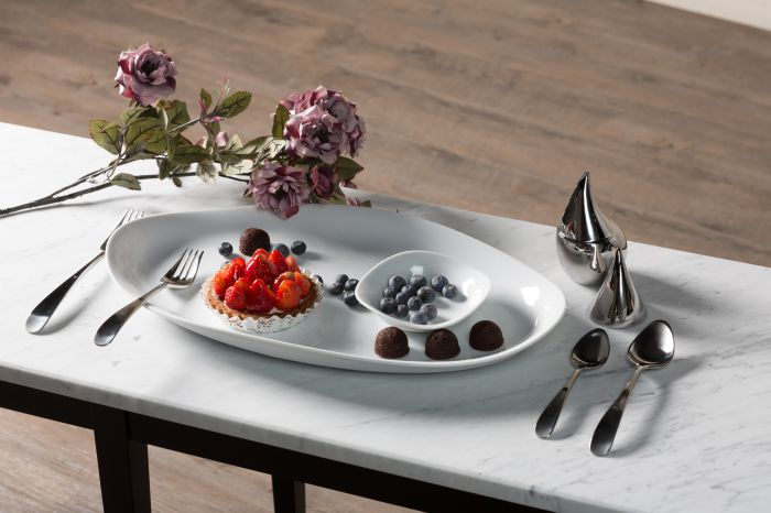 北歐櫥窗 Georg Jensen Living|Matte 朵蘭4件式餐具禮盒