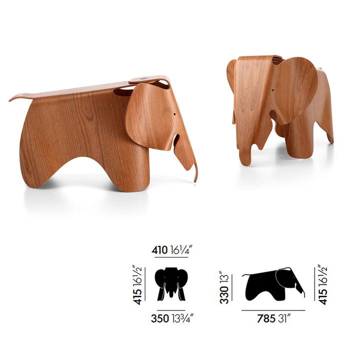(複製)北歐櫥窗 Vitra|Eames Small Elephant 迷你小象
