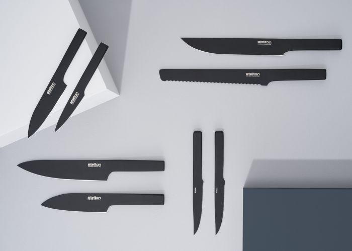 北歐櫥窗 Stelton|Viking英雄黑刀-小刀