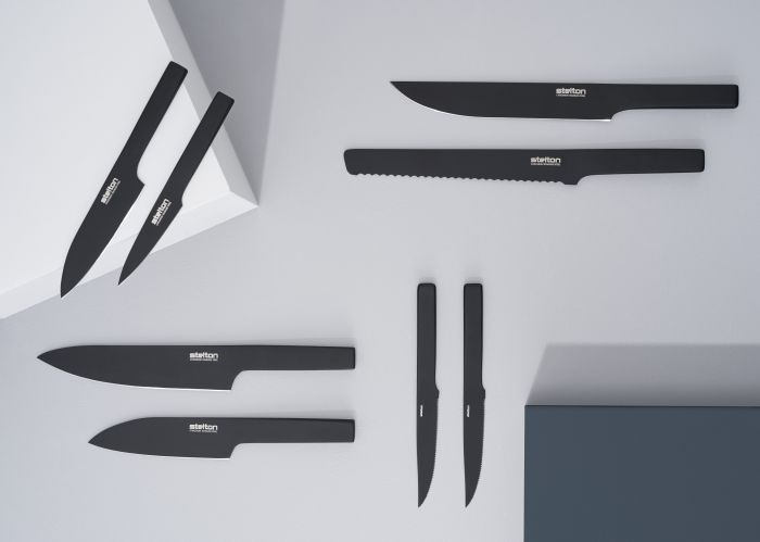 北歐櫥窗Stelton|Viking英雄黑刀-剔骨刀