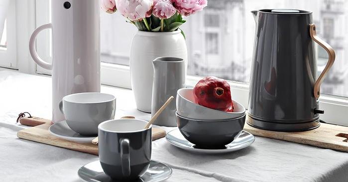 (複製)北歐櫥窗 Stelton|Emma 的幸福茶器 咖啡盤組(2入)