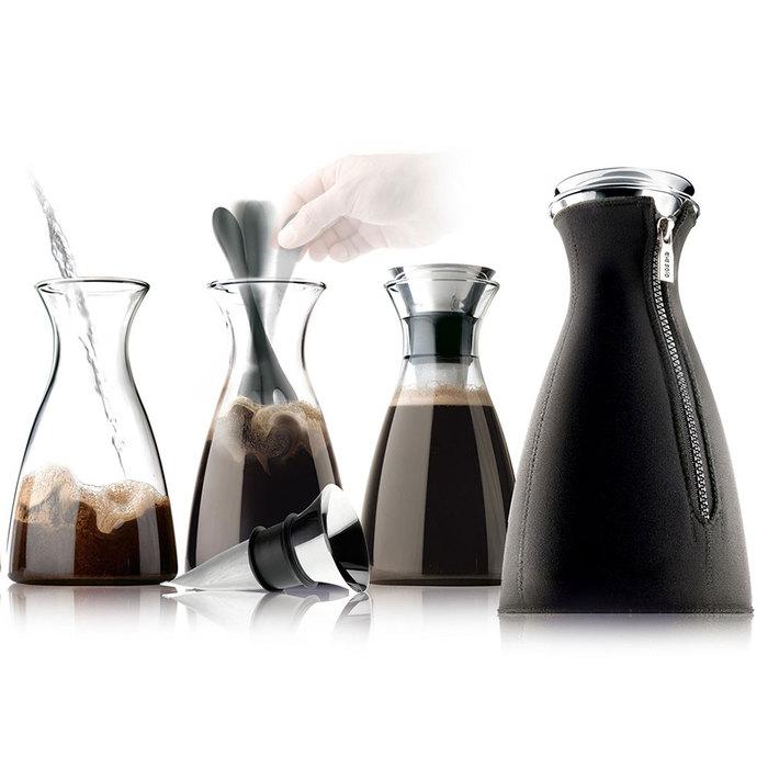北歐櫥窗 eva solo|咖啡獨奏(編織黑、1 L)