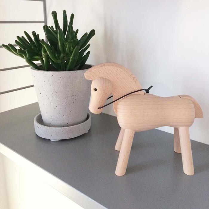北歐櫥窗 Kay Bojesen|木頭小馬(淺)