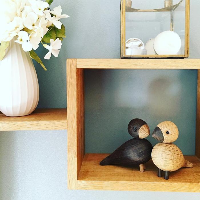 北歐櫥窗 Kay Bojesen|木頭愛情對鳥