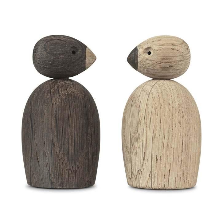 北歐櫥窗 Kay Bojesen|木頭雀鳥(二入一組)