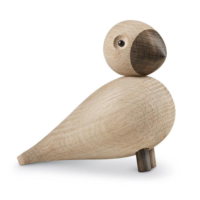 北歐櫥窗 Kay Bojesen|木頭鳴鳥─Alfred(原木色)