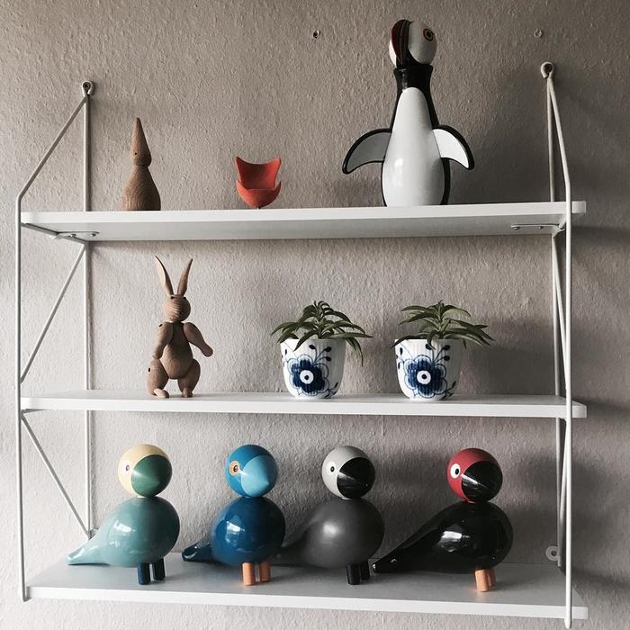 北歐櫥窗 Kay Bojesen|木頭鳴鳥─Kay