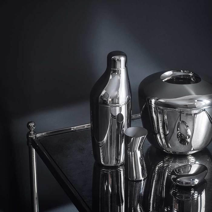 北歐櫥窗 Georg Jensen|Sky 天空吧檯 調酒組(雪克杯+攪拌匙+量杯)