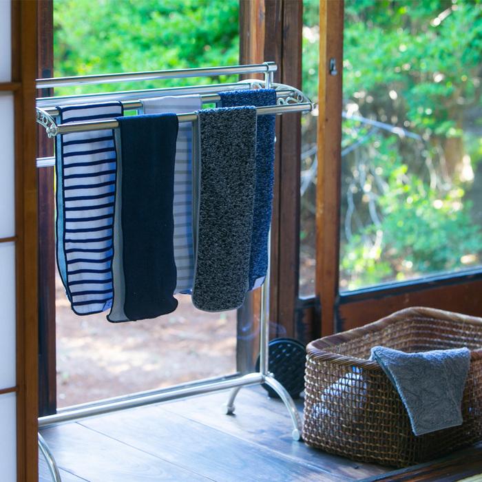 北歐櫥窗 100%|Minus Degree Soft Sport 降溫涼感運動毛巾(條紋、鮮莓紅)