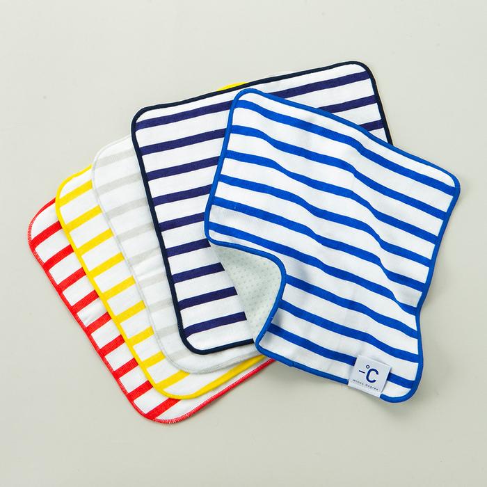 北歐櫥窗 100%|Minus Degree Soft 降溫涼感手巾(條紋、鮮莓紅)