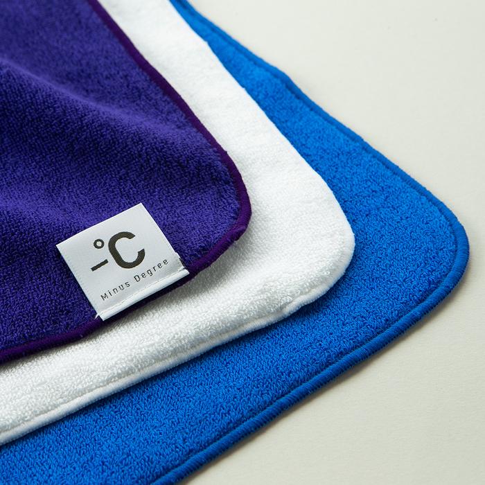 北歐櫥窗 100% Minus Degree 降溫涼感手巾(藍)