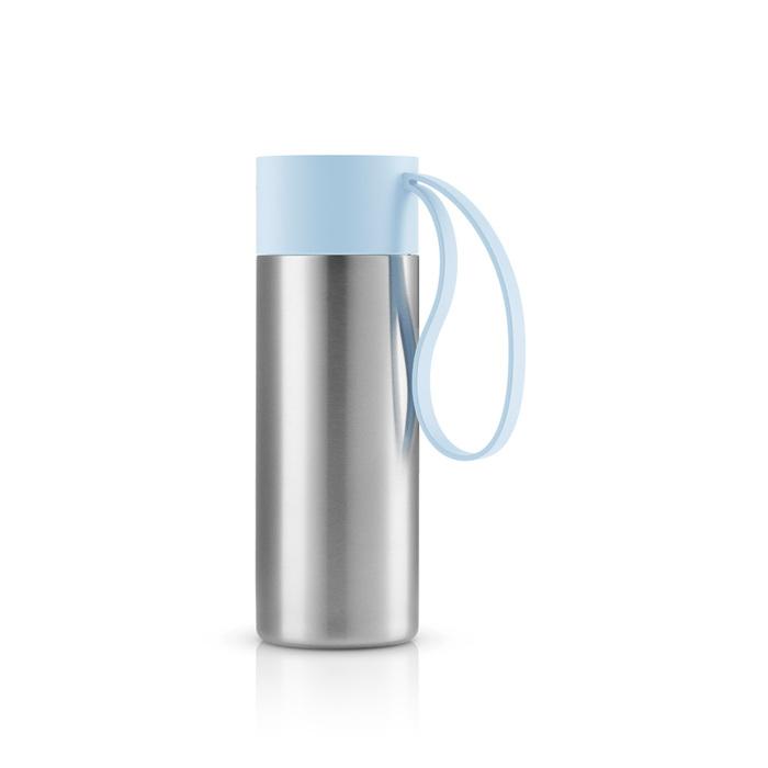 北歐櫥窗 Eva Solo|極線真空保溫瓶(雲朵藍、350 ML)