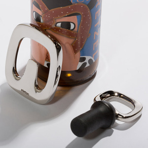 北歐櫥窗 Stelton|W 啤酒開瓶器、瓶塞禮盒組