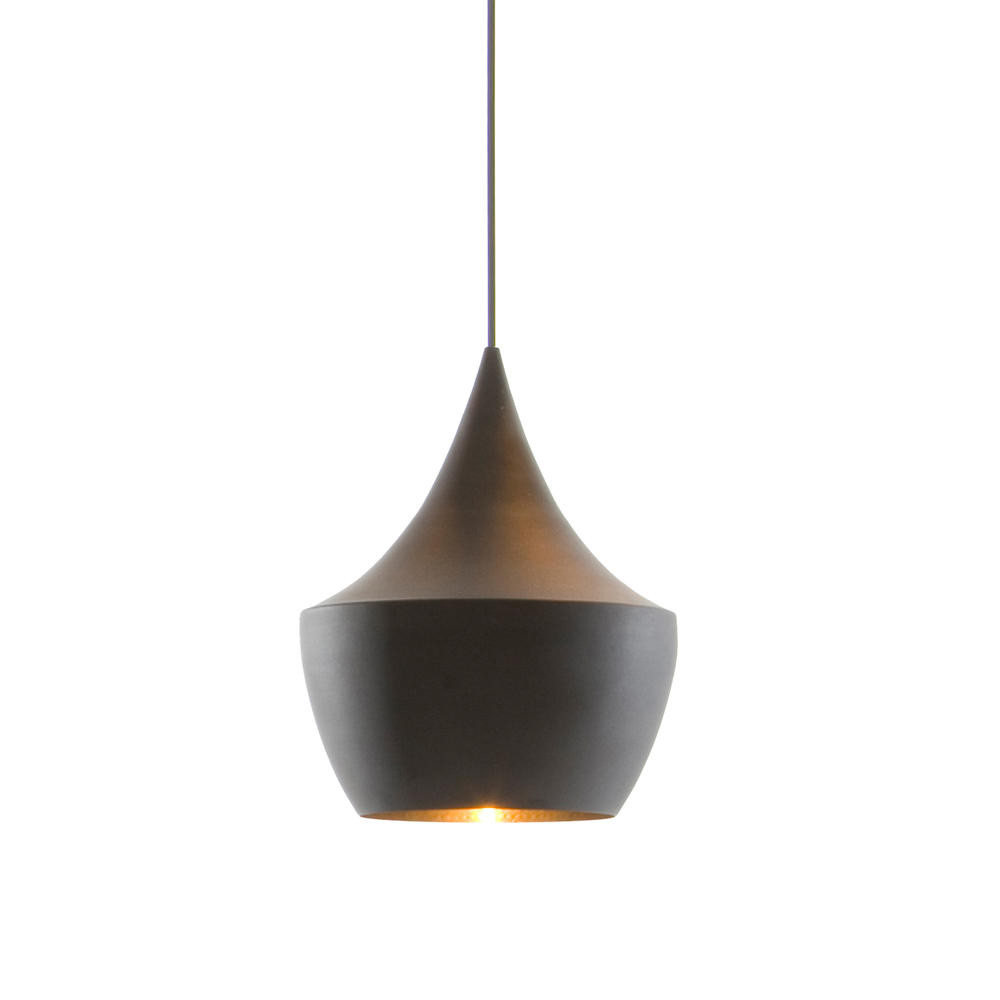 北歐櫥窗 Tom Dixon Beat 黑金印度壺型吊燈
