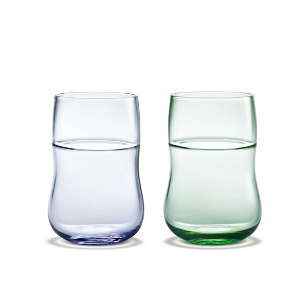 北歐櫥窗 Holmegaard|舞動未來水杯(2入、雙色)