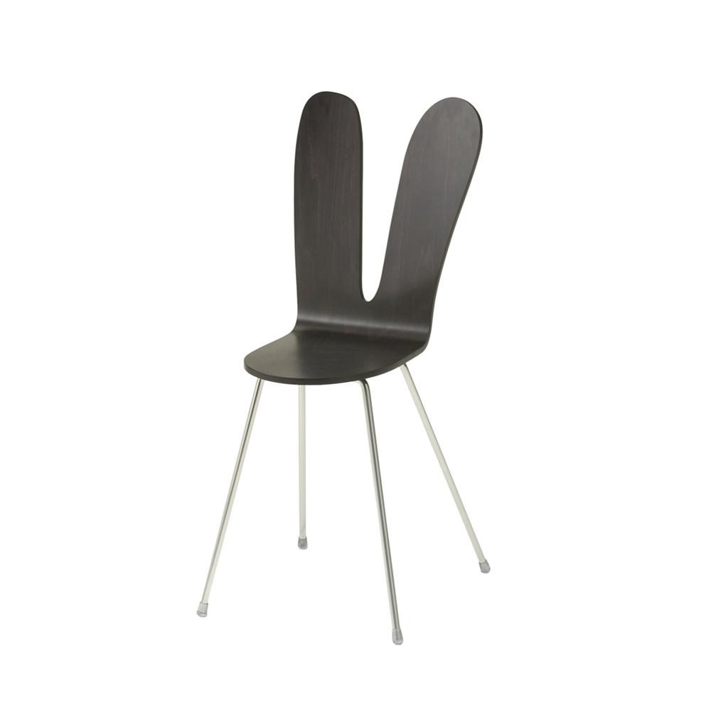 北歐櫥窗 maruni|SANAA 兔子椅(黑色兔)