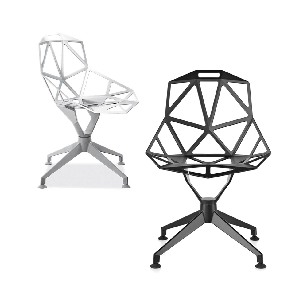 北歐櫥窗 Magis Chair One 4Star 旋轉單椅