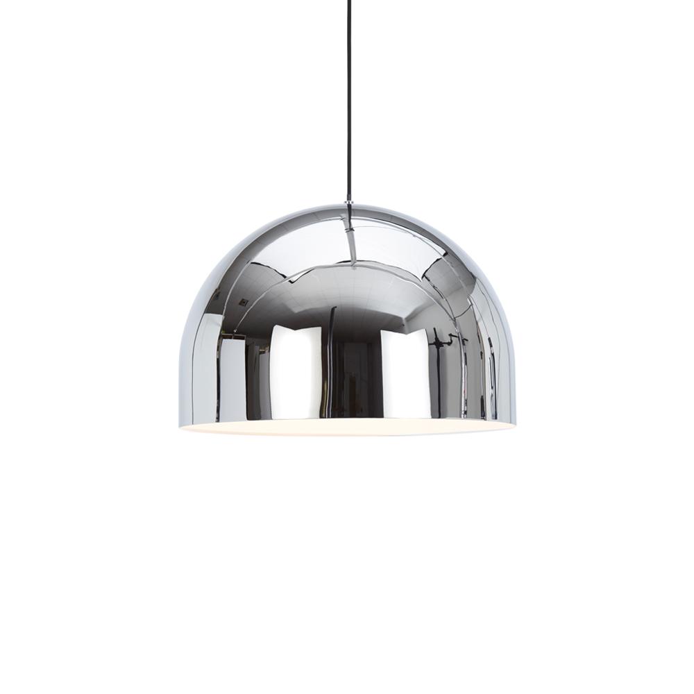 北歐櫥窗 Tom Dixon|Bell Light 圓鐘吊燈(鉻銀)