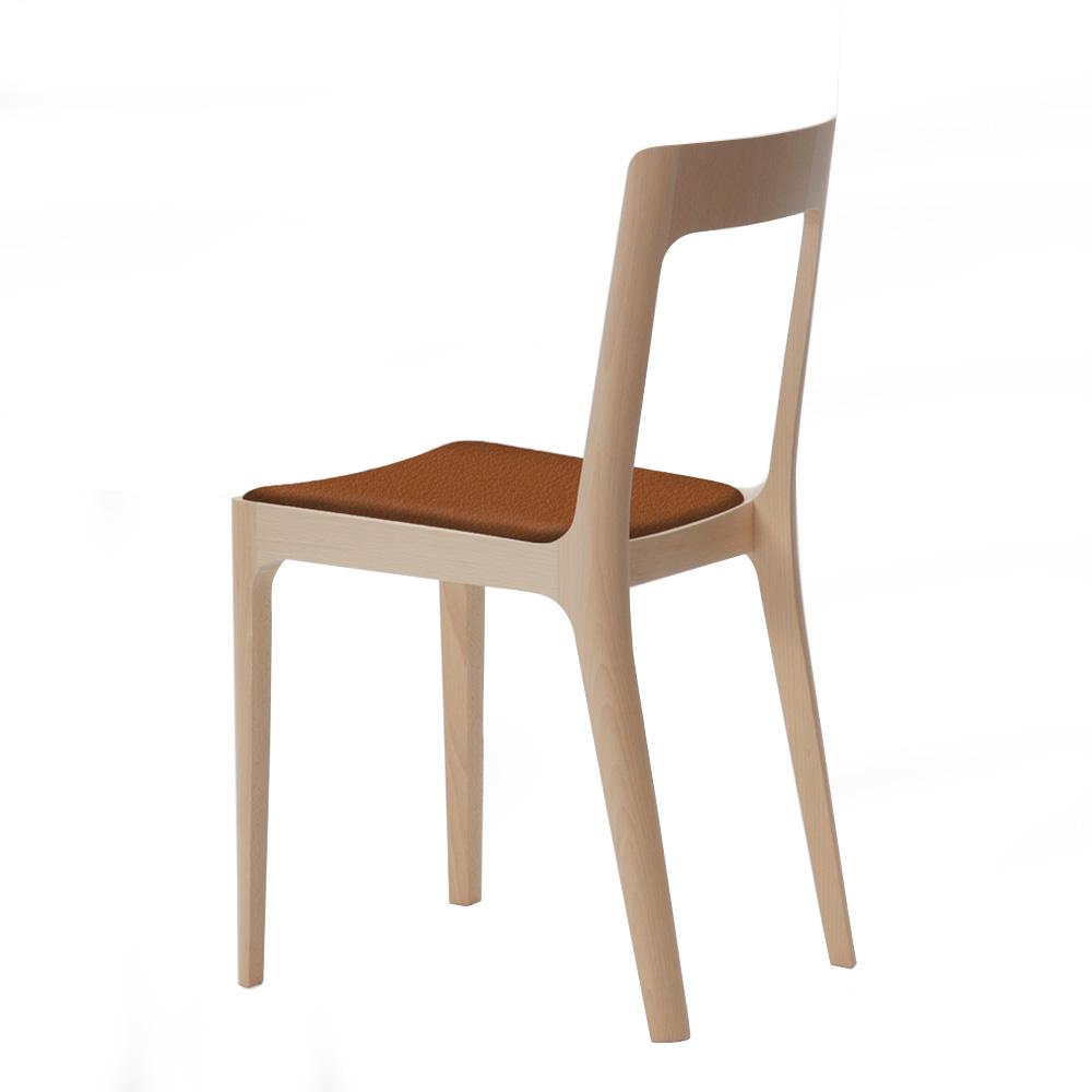 北歐櫥窗 maruni|Hiroshima 廣島單椅(棕色皮革)
