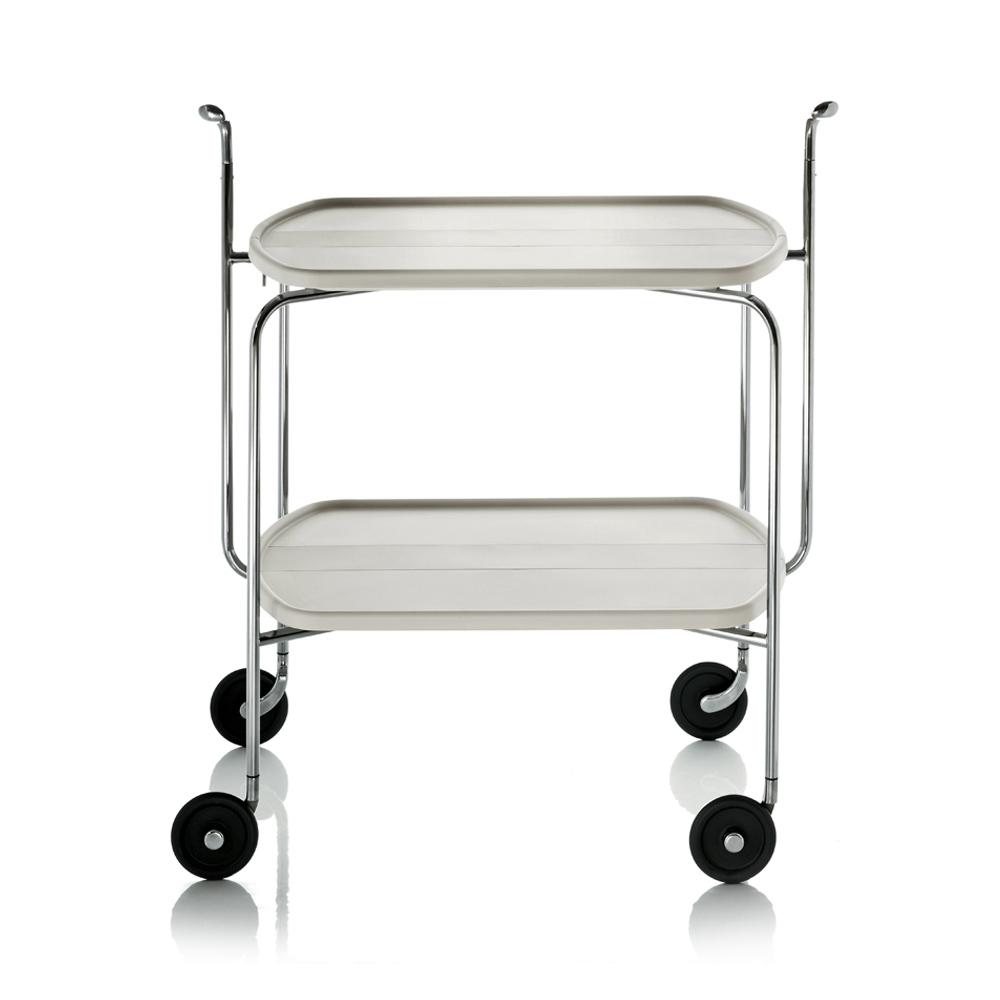 北歐櫥窗 Magis|Transit 雙層折疊滾輪餐車