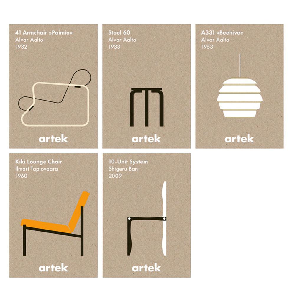 北歐櫥窗 Artek|Icon Posters 經典設計海報