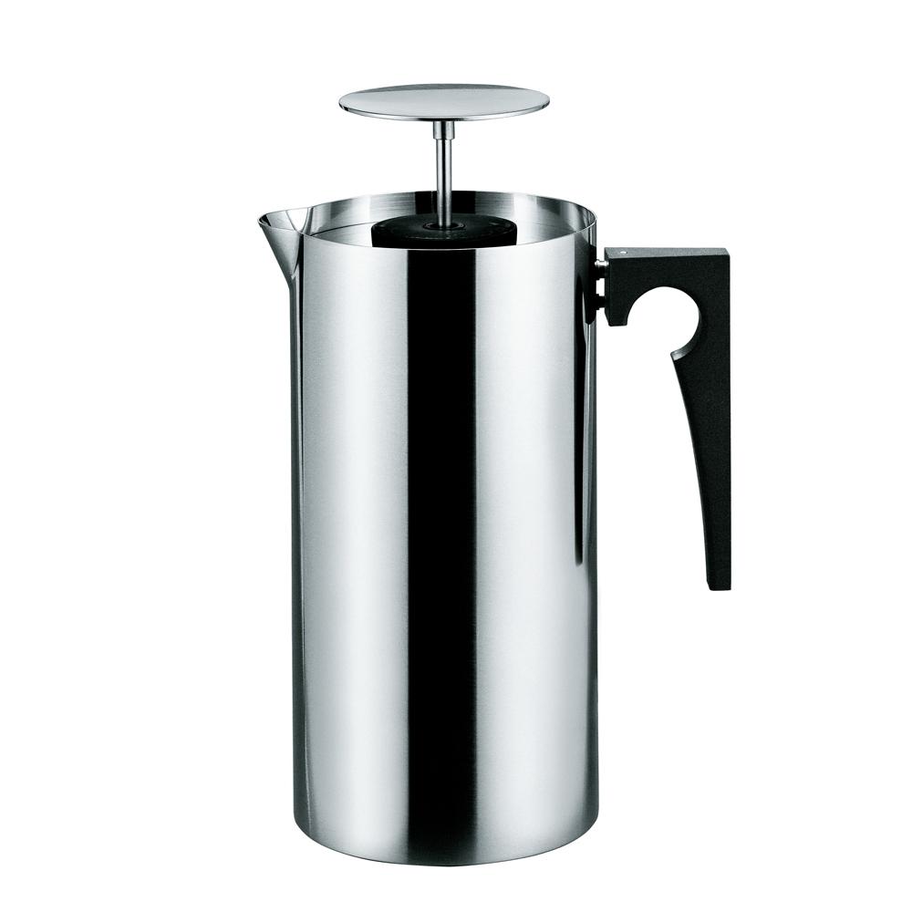 北歐櫥窗 Stelton AJ Cylinda─Line大師哲學─濾壓咖啡壺 (1L)