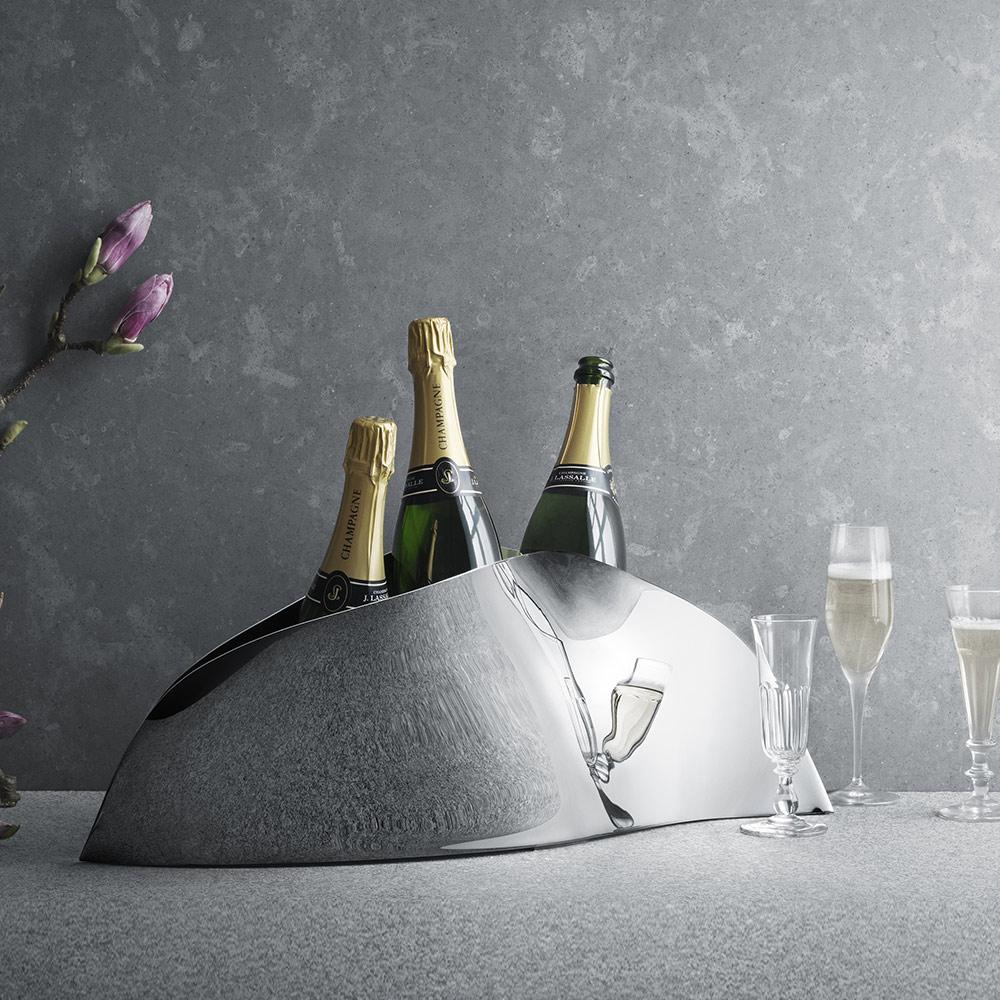 北歐櫥窗 Georg Jensen Living|Indulgence三瓶香檳冰桶