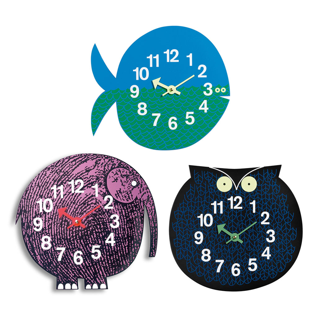 北歐櫥窗 Vitra 動物園掛鐘