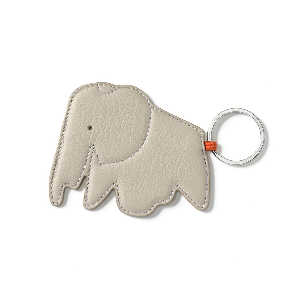 北歐櫥窗 Vitra|Eames Elephant Key Ring 大象皮革鑰匙圈