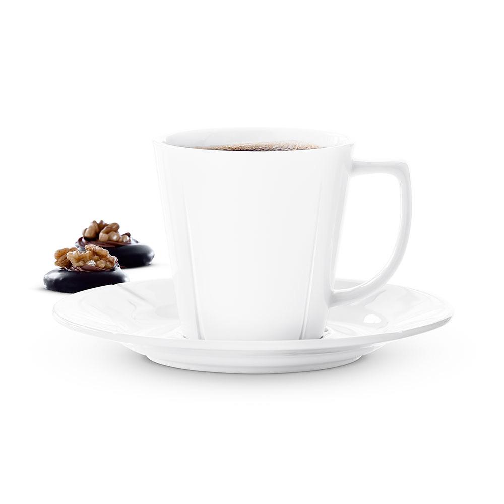 北歐櫥窗 Rosendahl|Grand Cru 白瓷咖啡杯盤組(260 ml)