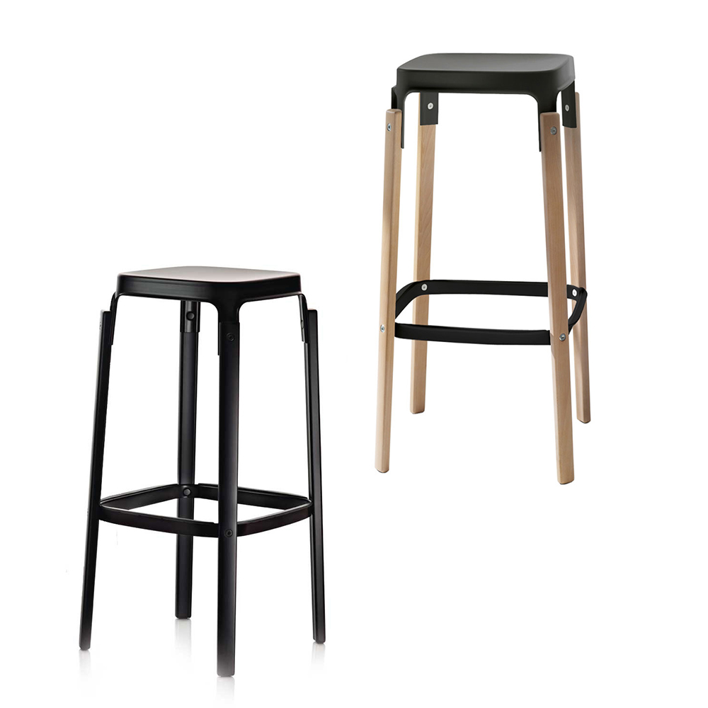 北歐櫥窗 Magis|Steelwood Stool 高腳凳(吧檯)