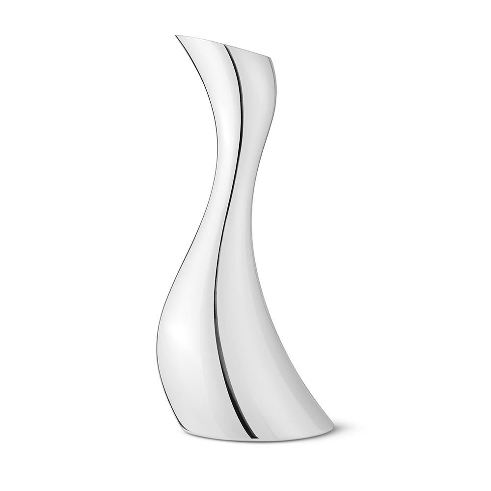 北歐櫥窗 Georg Jensen|Cobra 不鏽鋼波浪水瓶 (1.2L)