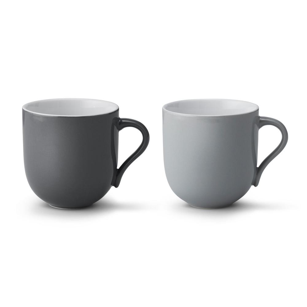 北歐櫥窗 Stelton|Emma 的幸福茶器 馬克杯組 (2入、灰)