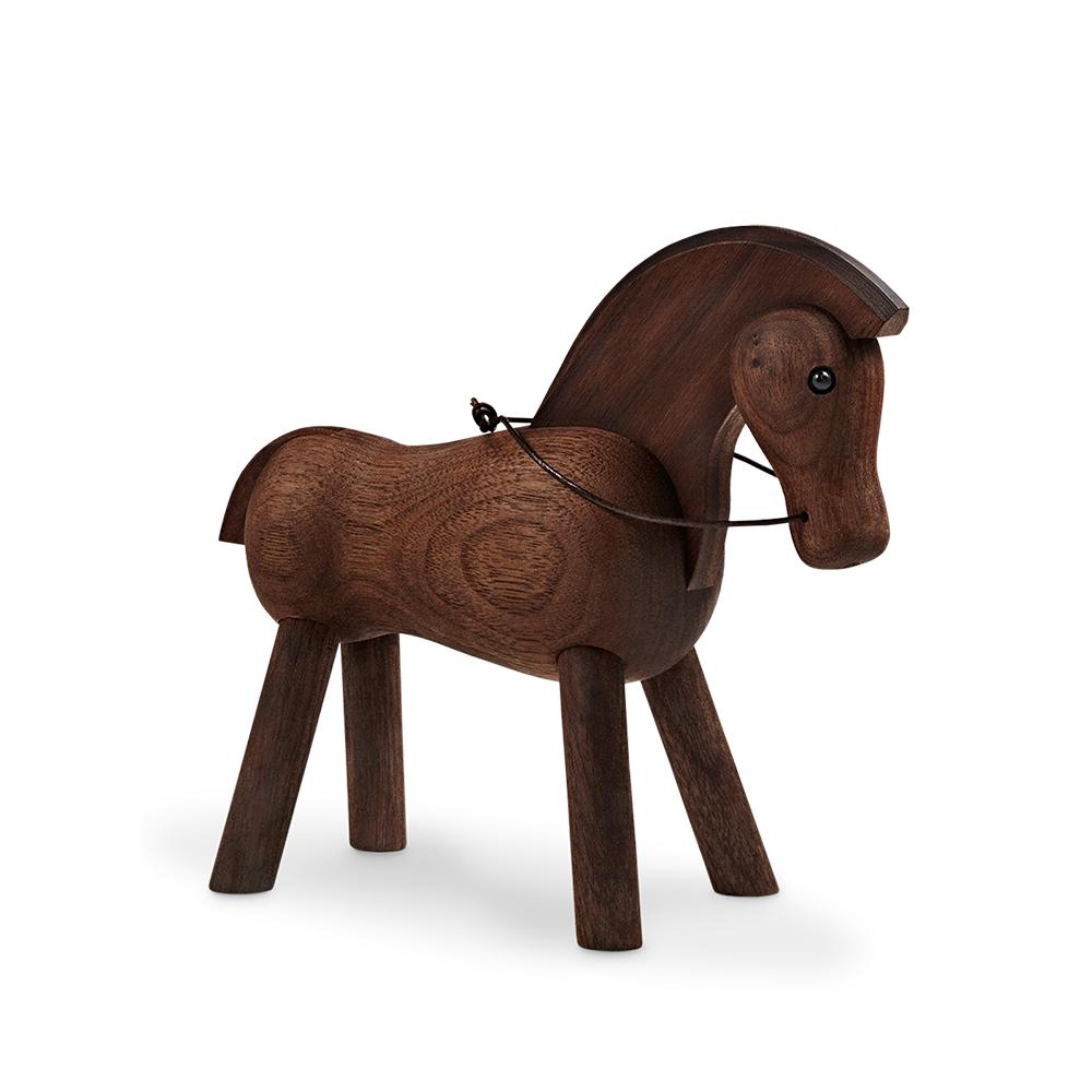 北歐櫥窗 Kay Bojesen 木頭小馬(深)