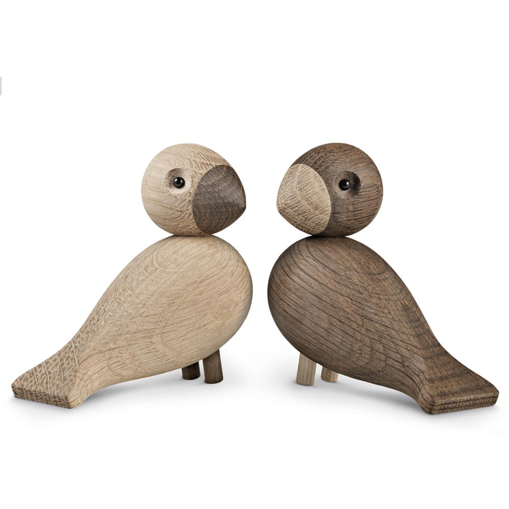 北歐櫥窗 Kay Bojesen 木頭愛情對鳥