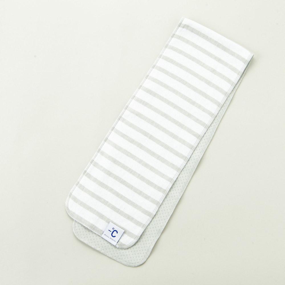 北歐櫥窗 100%|Minus Degree Soft Sport 降溫涼感運動毛巾(條紋、海豚灰)