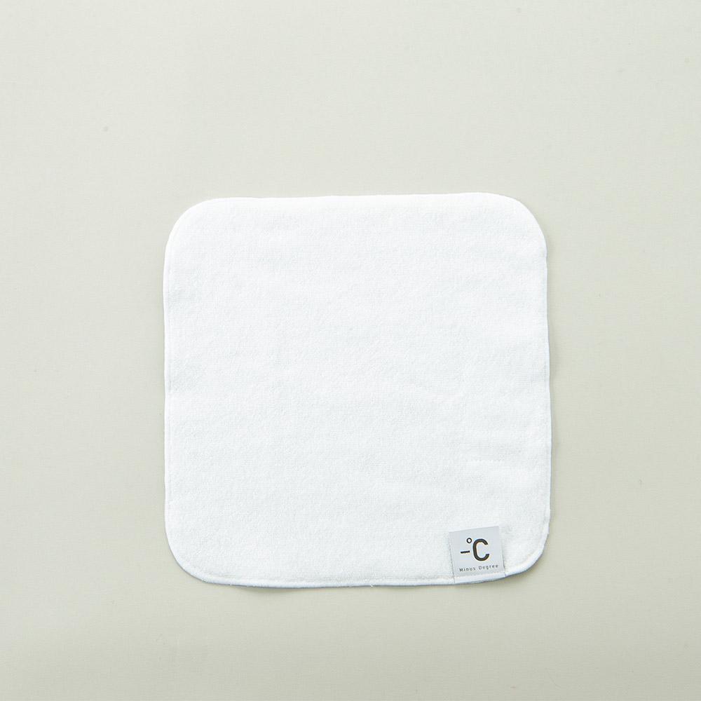 北歐櫥窗 100% Minus Degree 降溫涼感手巾(白)