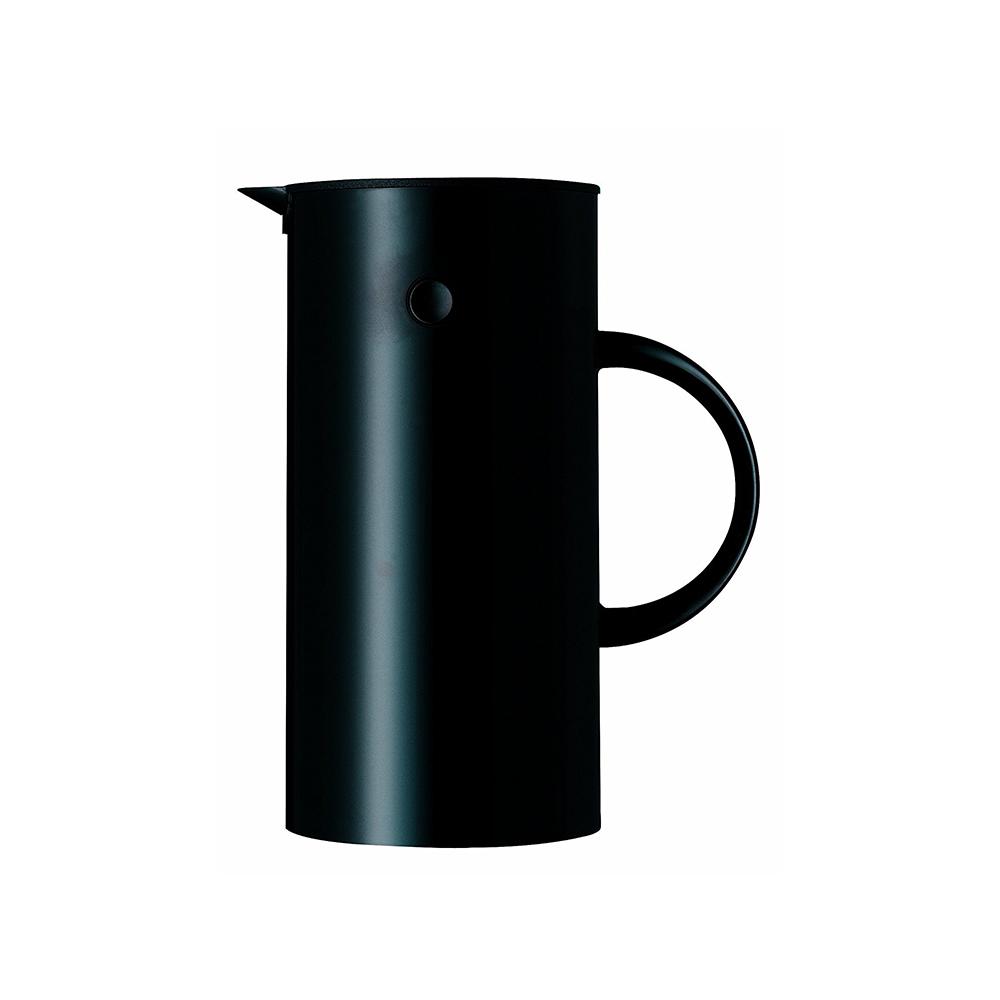 北歐櫥窗 Stelton 啄木鳥暖瓶(黑武士、0.5 L)