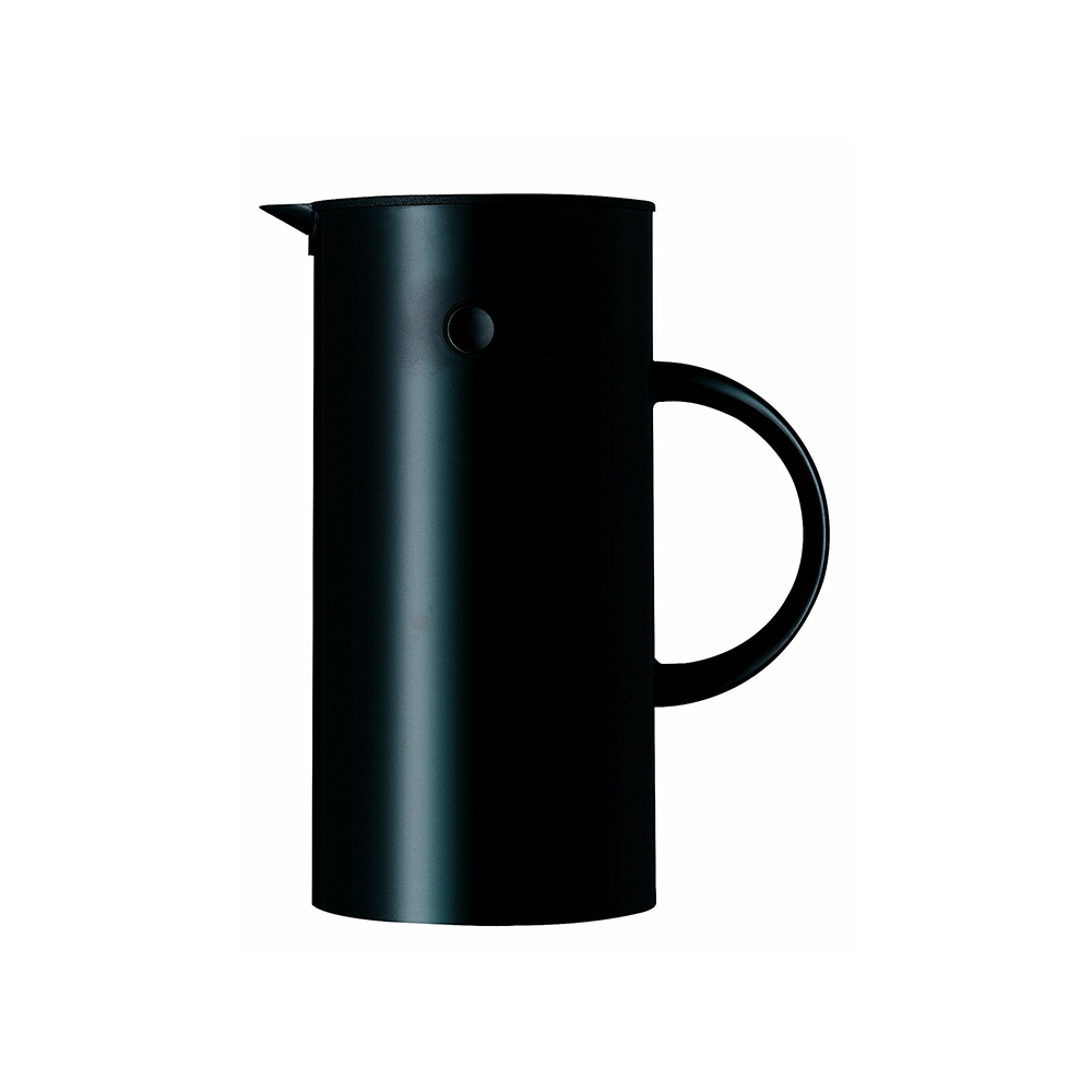 北歐櫥窗 Stelton|啄木鳥暖瓶(黑武士、0.5 L)
