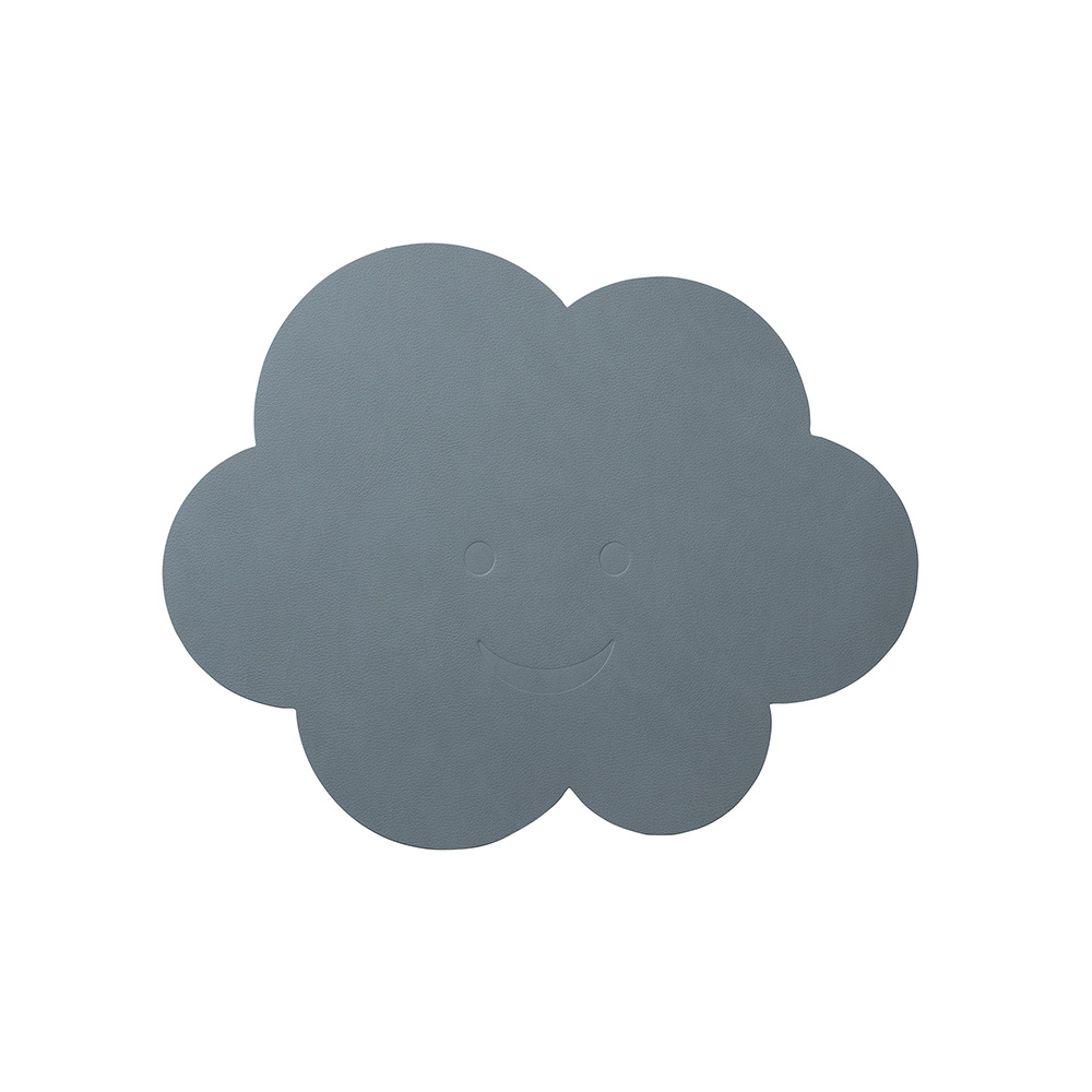 北歐櫥窗 LIND DNA NUPO 兒童皮革餐墊(雲朵)