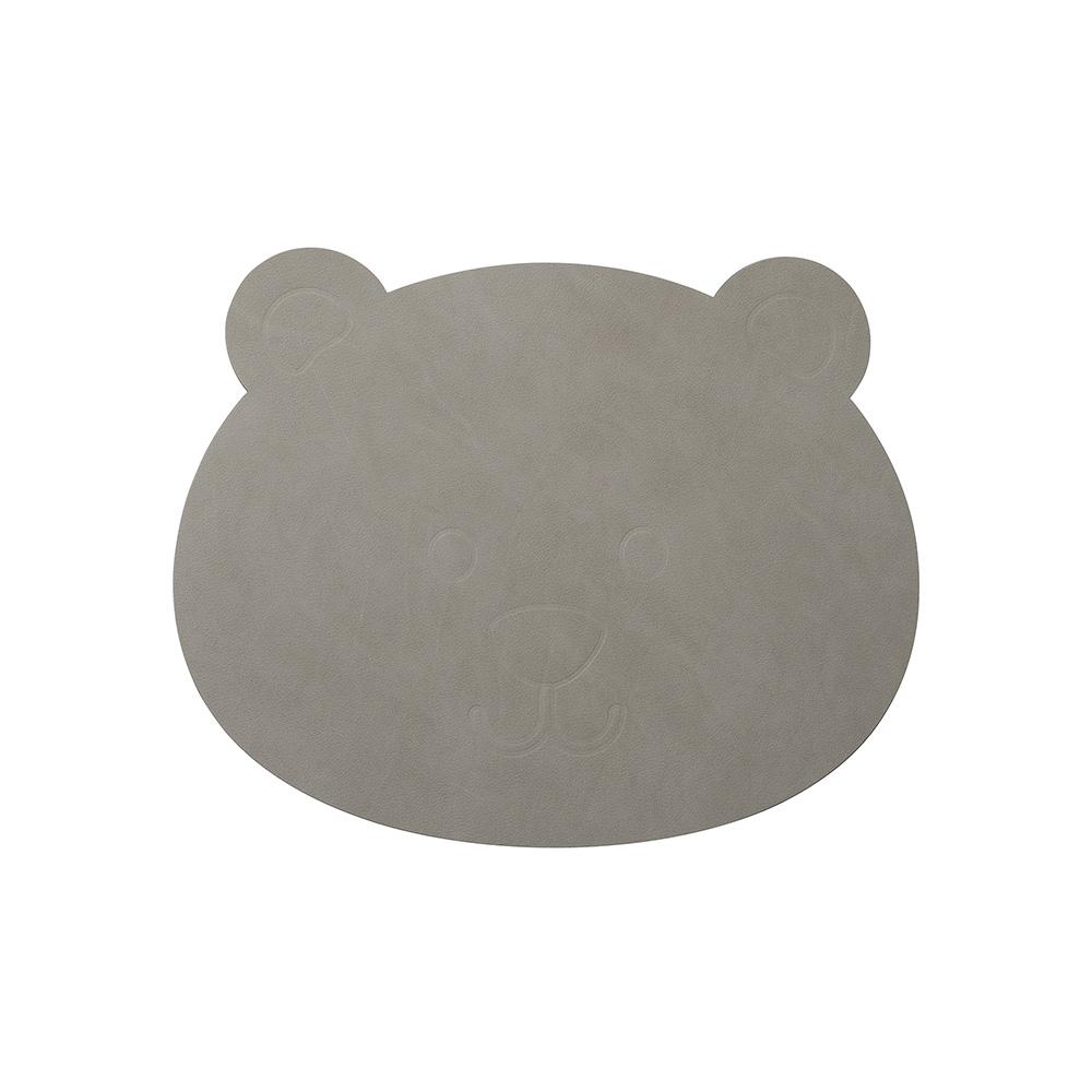 北歐櫥窗 LIND DNA NUPO 兒童皮革餐墊(小熊)