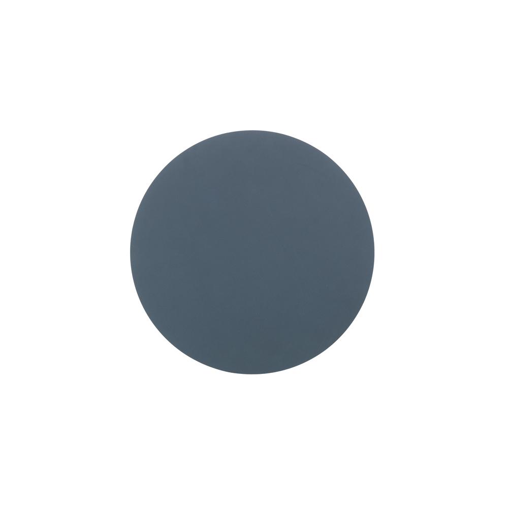 北歐櫥窗 LIND DNA|NUPO 皮革杯墊(圓形、深藍)